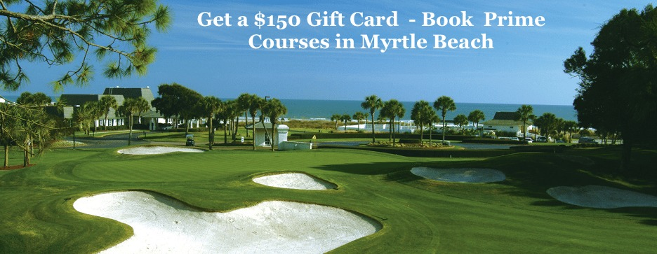 400 Gift Card - Book Prime Courses Myrtle Beach