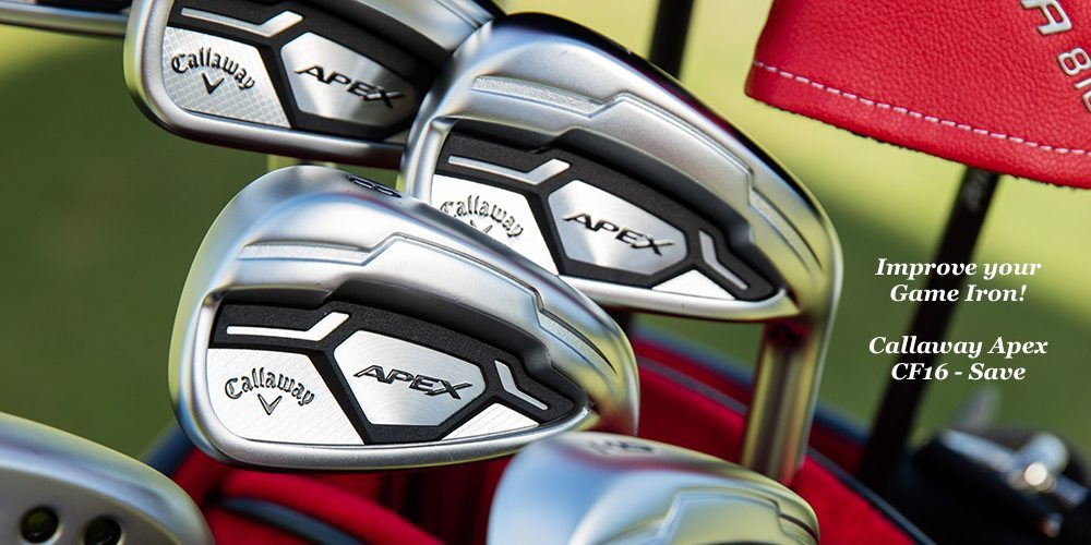 Callaway CF16 - Improve your Game Iron