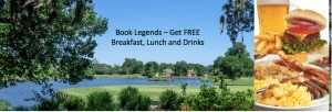 Legends Golf 5 Rounds 4 nights Specials