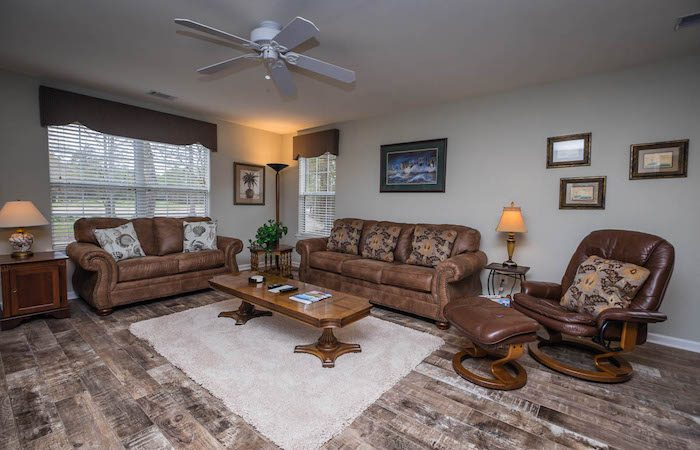 Living Room South Myrtle Golf Villas