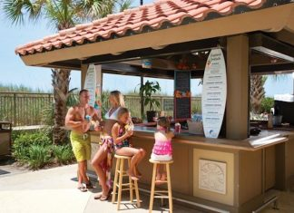 Tiki Bar and Grill South Myrtle Beach