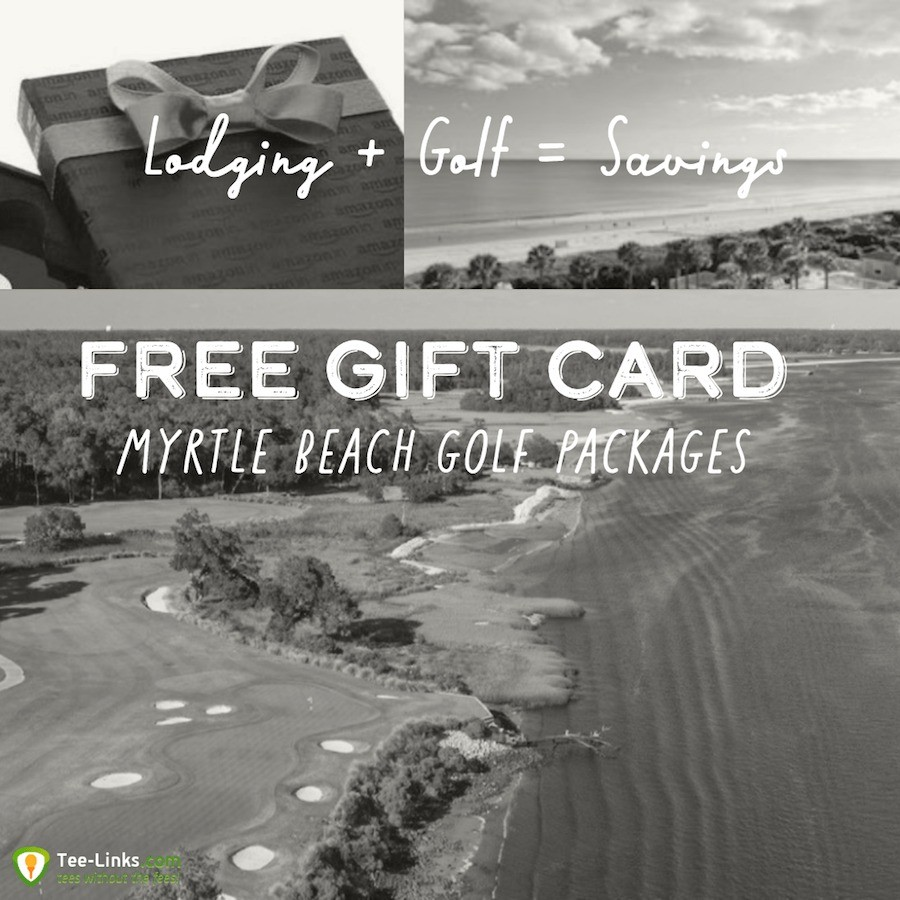 Myrtle Beach Golf Packages Free Gift Card