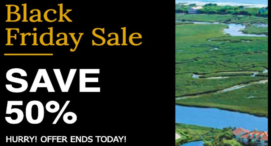 Black Friday Deals Myrtle Beach Golf